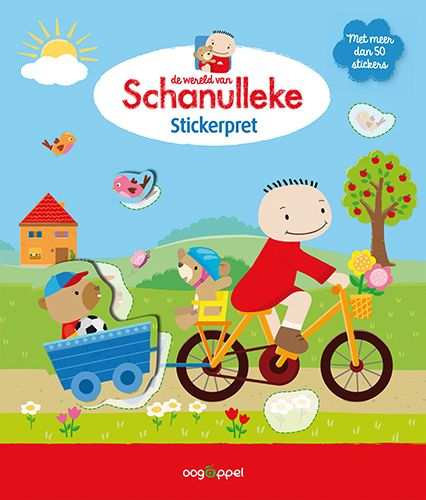 Stickerpret met Schanulleke