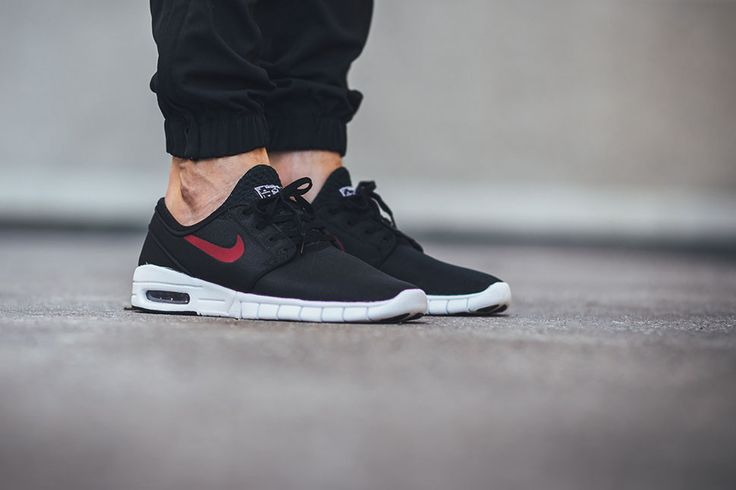 Nike Stefan Janoski Max Leather Sneakers