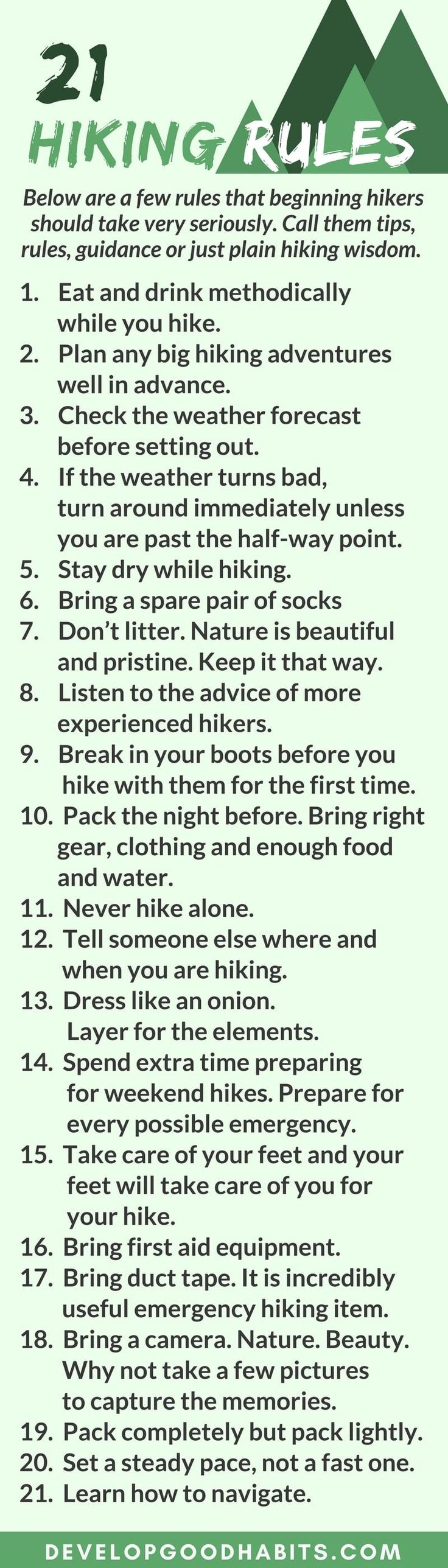 Hiking for Beginners: Hiking Benefits, Getting Started, Finding the Right Gear and More – Sue Robinson