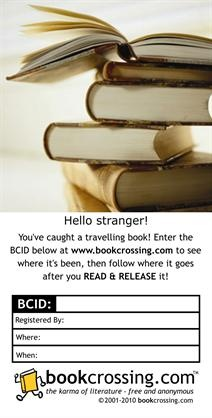 """www.bookcrossing.com - love doing this. Set your books free in the """"wild"""" and let someone else discover them. Books are tracked on the bookcrossing website. Fun to see where they end up and a great way to find a new home for books you have read."""