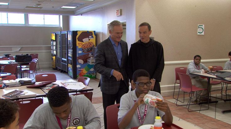 "St. Benedict's Prep: Their school motto is ""Whatever hurts my brother hurts me"" and their graduation rate is 98 percent. Scott Pelley reports on a unique school in Newark"