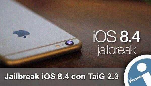 Descargamos versión #TaiG 2.3, ahora más estable para terminar proceso de #jailbreak #iOS 8.4 co éxito. Incluye nueva tienda Cydia 1.1.19. Para #iPhone, #iPad, #iPod.