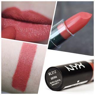 NYX Matte Lipstick in Sierra<3>