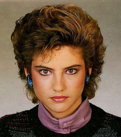 hairstyles of 80s