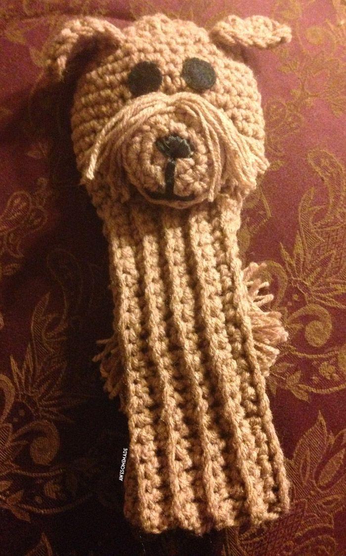 234 best crochet golf images on pinterest golf clubs crochet am crocheted custom dog golf club cover bankloansurffo Images