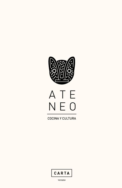 Art of the Menu: Ateneo Condesa