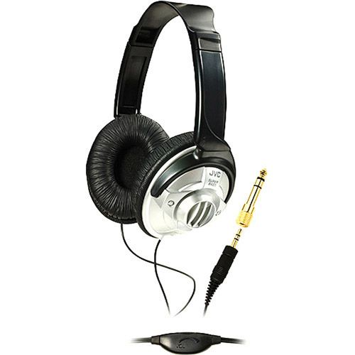 JVC hav570 full-size dj headphones with in-line volume control - Walmart.com