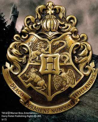 HOGWARTS School Crest Product Detail