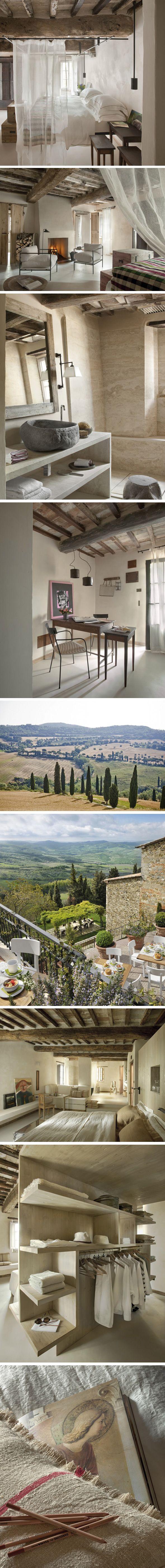 Hôtel de charme dans les collines toscanes