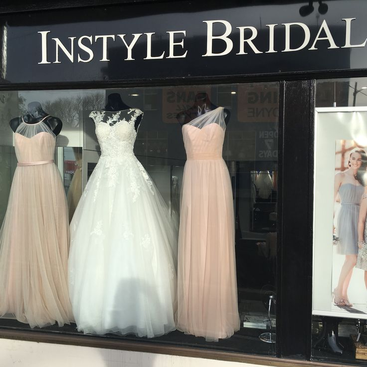 This week's window bought to you by #sorellavita #bridesmaiddress #8431 and #8674 in #blush #pink also #pronovias #barcelona #ofelia #weddingdress #princess #tulle #lace #modern #romantic #wedding #dress #instyle #fashion #love #engaged #isaidyes #weddingdressshopping #bridalshopsydney #instylebridal #drummoyne #sydney #bride #bridesmaid #bridalparty #inspiration #weddingplanning