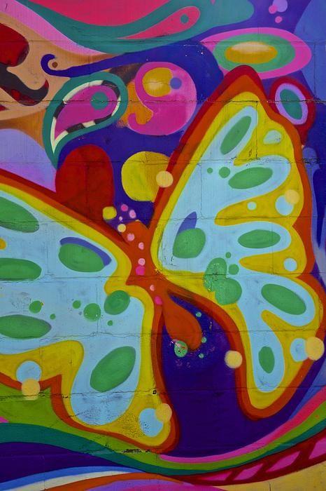 Butterfly Graffiti New York City 2014 | New York City ...