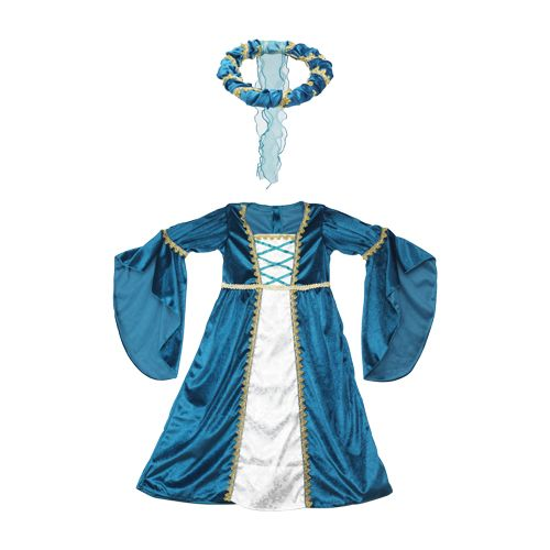Disfraz de princesa medieval (talla 3-4 años) Party Lady Anne 104