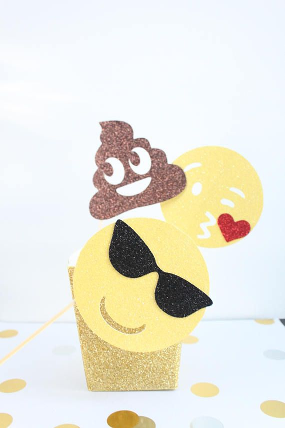 Upload Your Face Cake Topper