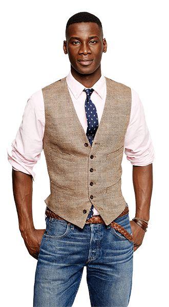 Best 25  Men's vest fashion ideas on Pinterest | Vest men, Mens ...