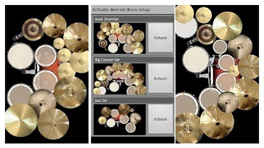 virtual drums online | Drum Set Android Application : A Fully-Ranged Virtual Drums