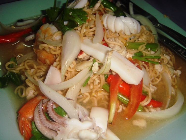 noodles with full of seafood