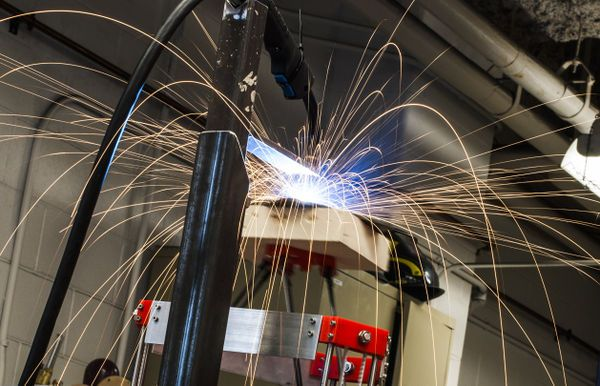 Low-cost open-source 3D Metel Printer developed by Michigan Tech's Open…