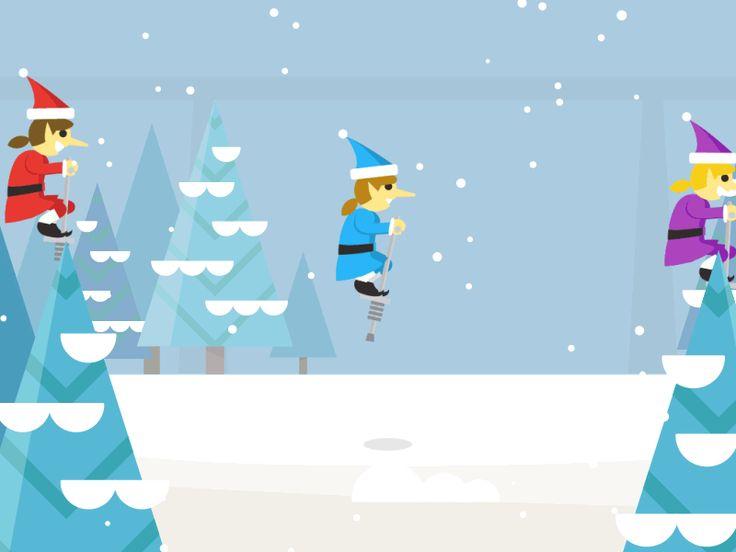 Dribbble - Google Santa Tracker - Pogo Elves by Seth Eckert