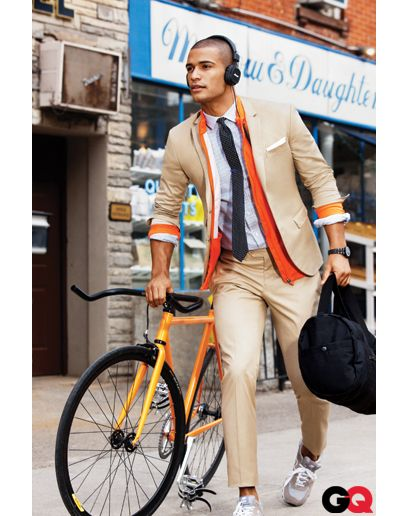 Orange - good oneOrange, Fashion Men, Fashion Style, Men Style, Men Fashion, Suits, Men'S Fashion, Bold Colors, Business Casual