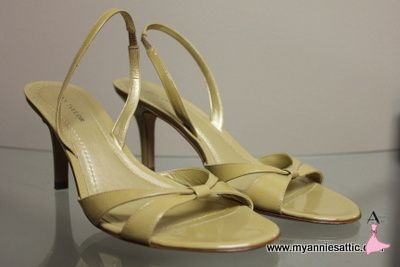 Ann Taylor tan slingbacks, size 6.5 Elastic around heel Excellent condition $24.00