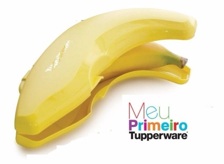 Tupperware - Porta banana
