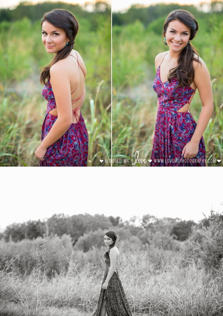 Couldn't this be an album cover? Love this boho-chic dress! | Senior portrait session in Decatur and Argyle High School | Pose Ideas | Fashion | copyright Love, Me Photography www.lovemephotography.com