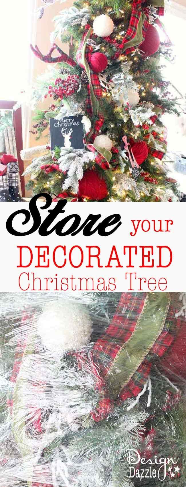 Pull up christmas tree reviews - Save Time And Store Your Decorated Christmas Tree