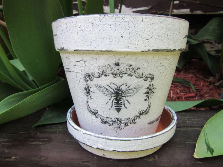 Bee Flower Pot