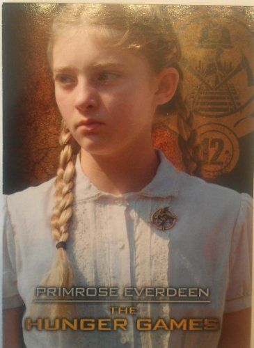The Hunger Games Trading Card - #13 - Primrose Everdeen [Toy] @ niftywarehouse.com #NiftyWarehouse #HungerGames #TheHungerGames #Movie