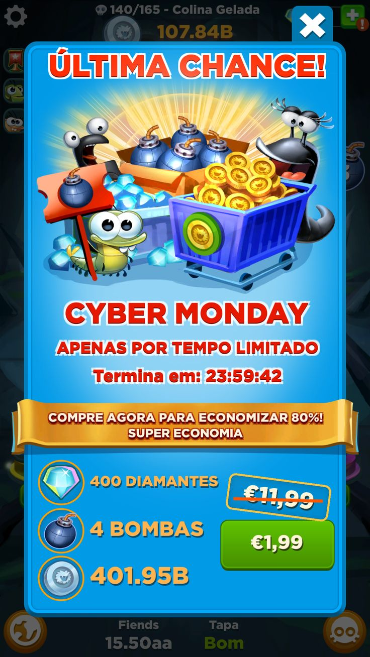 Cyber Monday bundle offer - Best Fiends Forever