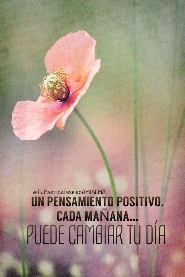 Un Pensamiento Positivo Cada Mañana Puede Cambiar Tu Día