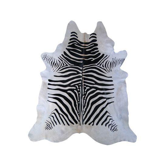 Cow Hide 6 Zebra