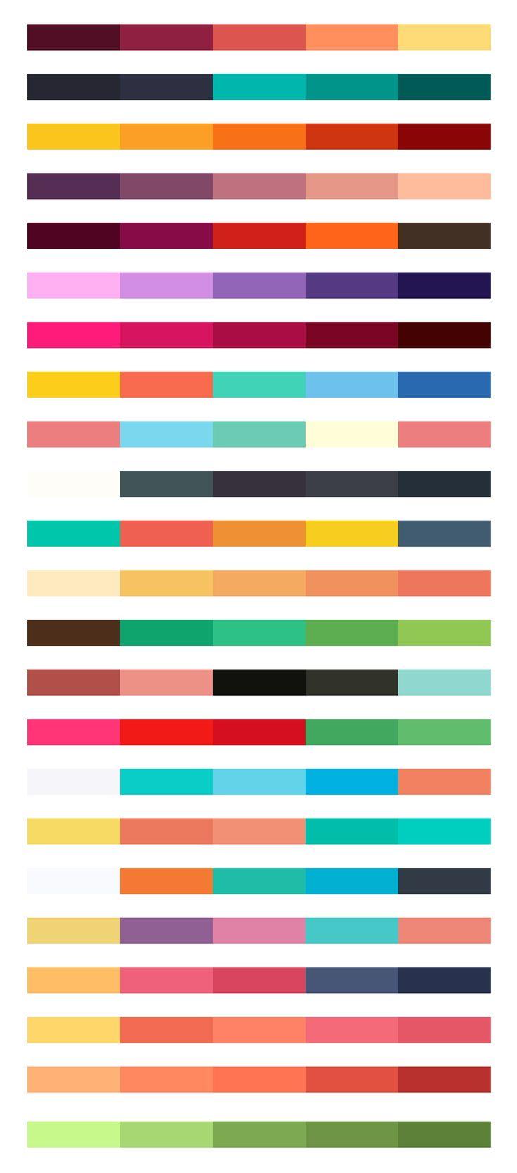 Flat UI Renk Örnekleri - 23 Renk
