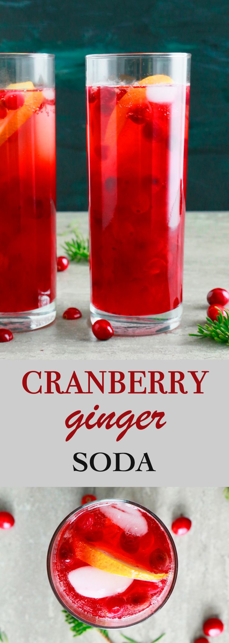 holiday drinks | christmas drink recipes | kid friendly drinks | cranberry drink recipes | non alcoholic drinks | soda recipes | pretty drinks | party drinks