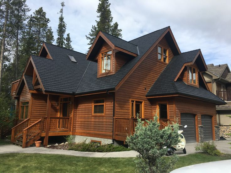 Beaumont Shake in Black #black #shake #cedar #roofing #home #rubberroofing #roofingmaterial #euroshield #roofingproducts #design #shingle #contractor #lifetimewarranty #canadianmade #yyc #renos