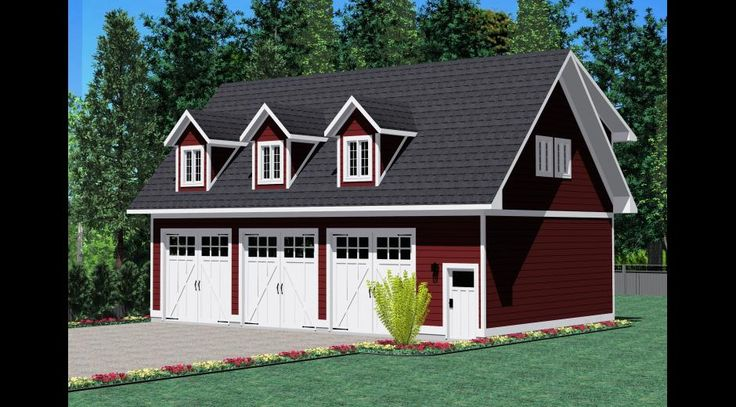 17 best images about shop garage ideas on pinterest 3 for Prefab carriage house kits