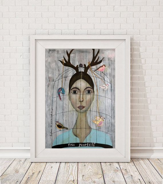 Giclee Art Print Giclee print Print of the by MissLillemor on Etsy