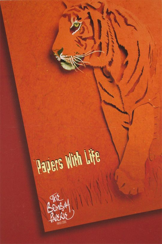 Papers with Life    Ad campaigns for handmade paper.  The idea is that the papers are so colourful, dynamic, bold and beautiful, they seem to have life. These are hand done paper sculptures of animals and birds.