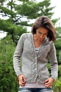 """Lady Sunnyside"" women's cardigan knitting pattern by Tanis Lavallee on Ravelry"