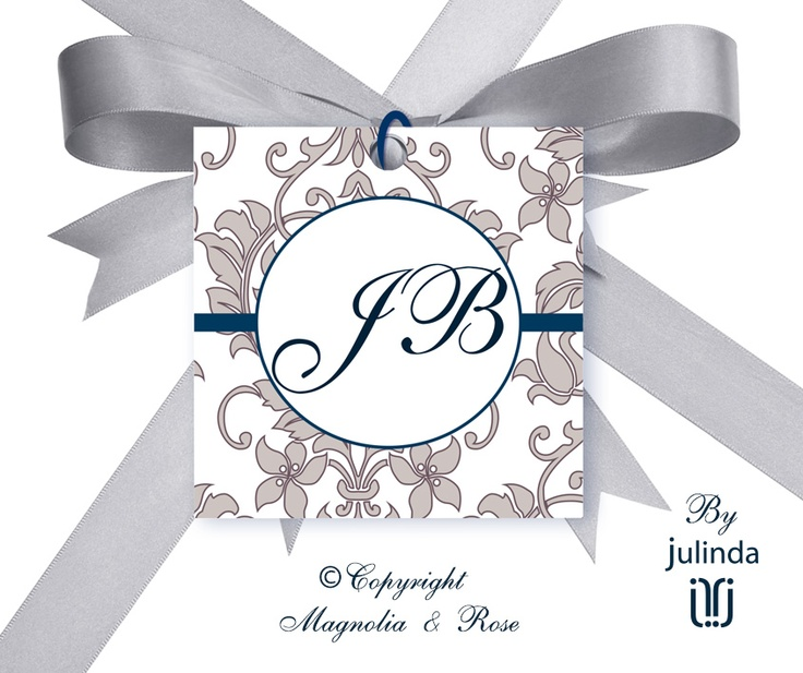 From the 'Exquisite Lavender' couture collection.    #Wedding Invitations, RSVP, Menus, Table and Favour/Decor Swing Tags.    © Julinda at Magnolia & Rose Weddings