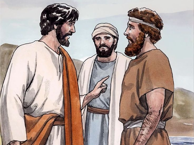 Free Visuals Jesus First Disciples Peter Andrew Philip