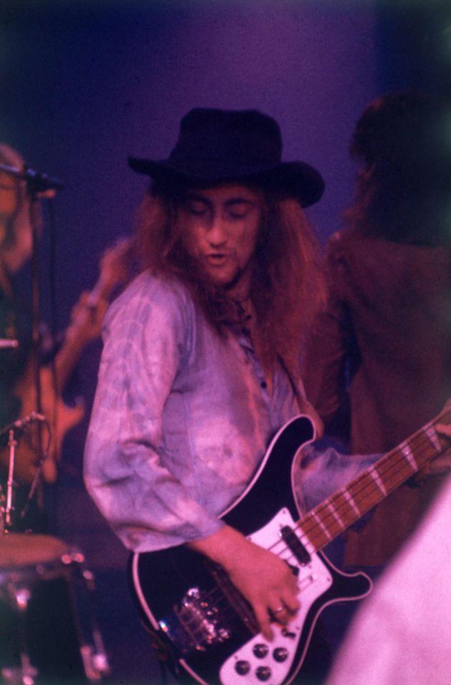 Roger Glover early 1973- one half of the magical rhythm section that is Paice & Glover still rocking in 2014! ©Deep Purple (Overseas)