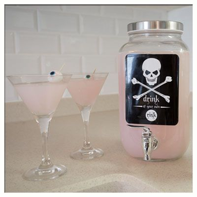Win this spooktacular Skull Beverage Dispenser when you enter the Evil Pins Pinterest Sweepstakes today! Go to Contests.Piqora.com/EvilPinsSweepstakes and follow the How to Enter steps now!