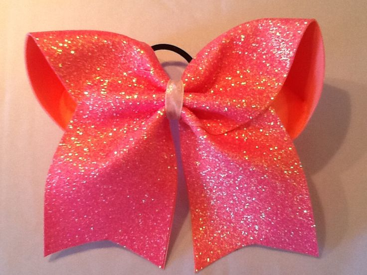 Coral Glitter Cheer Bow Big Cheer Bow Custom Cheer Bow by PizazzBows on Etsy https://www.etsy.com/listing/269498770/coral-glitter-cheer-bow-big-cheer-bow