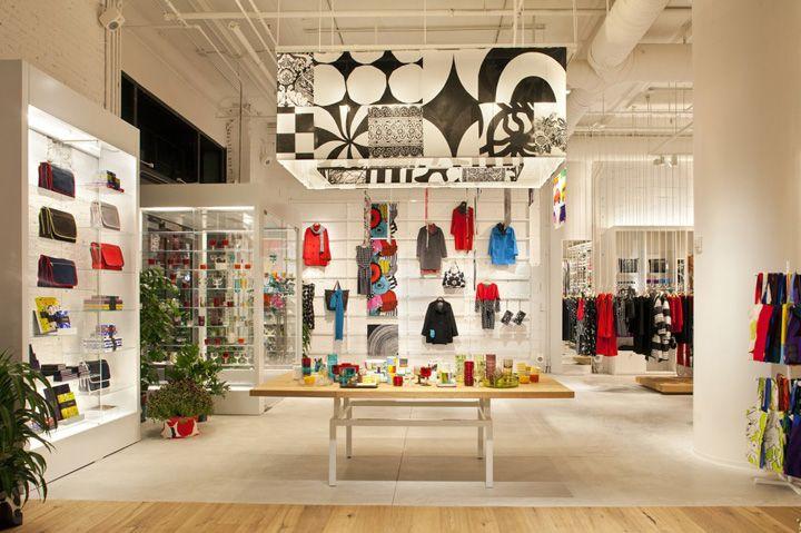 mmmmm, graphic-y     - Marimekko flagship store by Studios Architecture, New York store design