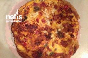 Tavada 10 Dakikada Mucize Pizza ( Fırın, Hamur, Yağ Kullanmadan-Aşama Aşama) Tarifi