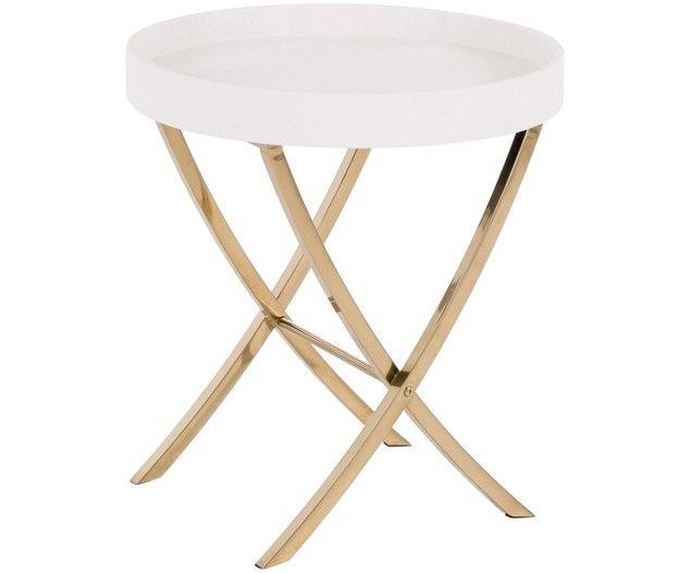 Tablett Tisch Emma Klappbar Beige Furniture Decor