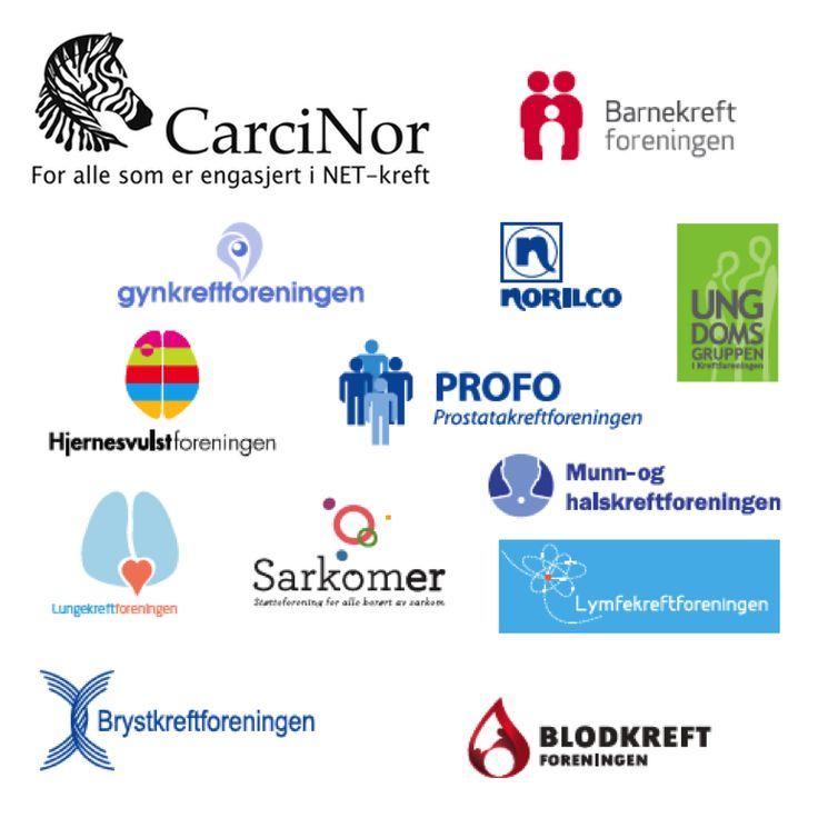 Samarbeid for kreftsaken. CarciNor er en av pasientforeningene som samarbeider med Kreftforeningen. Pasientforeningene er viktig bidragsytere og kunnskapsformidlere om hvordan det er å leve med kreftsykdom. CarciNor er stolt av å kunne være med og bidra med likepersoner og brukermedvirkere i et fellesskap for kreftpasientene og deres pårørende.