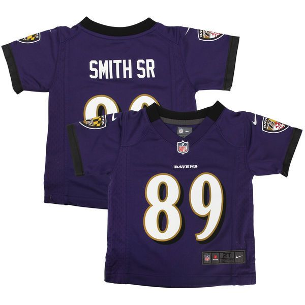 Steve Smith Sr Baltimore Ravens Nike Preschool Team Color Game Jersey - Purple - $34.99