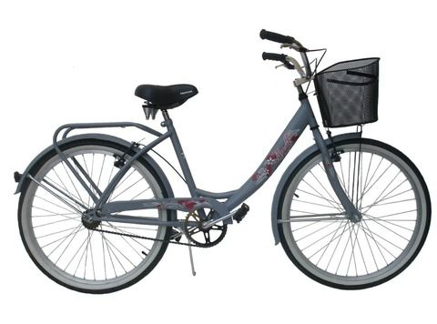 Bicicleta Paseo Musetta Flower - Rodado 26